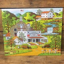 Charles Wysocki Budzen's Roadside Food Stand Decorative Tin Sign