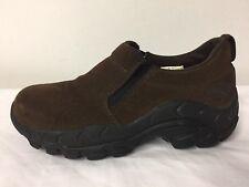 Dickies Steel Toe Brown Suede Slip On Ankle Boots Mens 7.5