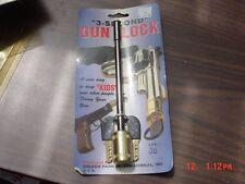 3  Second  Gun  Lock  38  Caliber