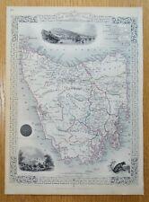 More details for tasmania, australia, van dieman's land, john rapkin original antique map 1851