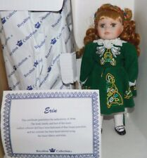 "Royalton Collection Bisque Porcelain Erin The Irish Doll Rare! 10"" Tall New"