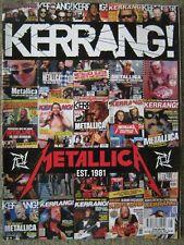 Kerrang magazine 3 December 2011 1392 Metallica Korn Pandora Lemmy Turbowolf