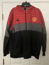 Adidas Originals Manchester United Zip Up Hoodie Brand New Without TagsMen's XXL