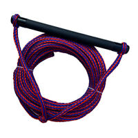 Water Ski Rope Tow Harness Cord with Floatable 15'' EVA Handle for Wakeboard