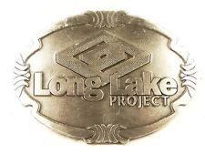 Ton Argent Long Lac Projet Étain Massif Boucle de Ceinture sans Marque 121615