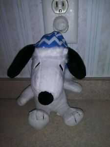 DAN DEE SNOOPY PEANUTS MUSICAL STUFFED PLUSH PLAYS LINUS and LUCY SONG TOY