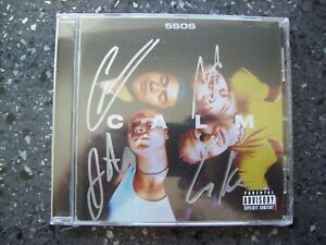 5 Seconds Of Summer - Calm - CD Signed Edition.....NEW & SEALED