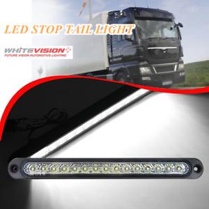 WHITEVISION RL360RLEDB - 10-30V LED Slimline Reverse Lamp - WHITE on Black Hsng