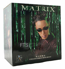 Matrix Reloaded Mini-Bust NIOBE Gentle Giant OVP, NEU