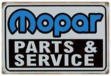 Reproduction Mopar Parts & Service Sign