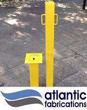 Removable Security Post bollard { Heavy Duty } Anti Ram