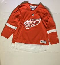 CCM OFFICIAL Detroit Red Wings REEBOK NHL Jersey Youth L/XL