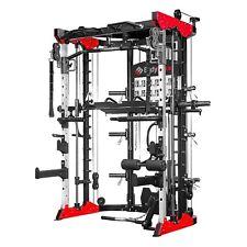 BodyMax 8-in-1 Home Gym Dual pulley Half Rack Smith machine Near-New RRP £3900