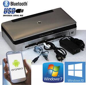 USB & BLUETOOTH MOBILER DRUCKER HP OFFICEJET 100 FÜR WINDOWS XP 7 10 UND ANDROID