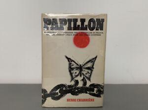 Papillon Henri Charriere Vintage First Edition French Adventure Prison Memoir