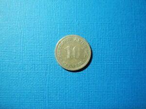DEU683  - GERMANY - 10   PFENNING - 1876D