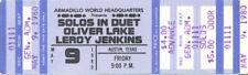 Oliver Lake Concert Ticket 1980