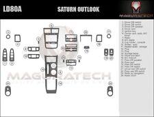 Fits Saturn Outlook 2007-2009 NO Factory Wood Large Premium Wood Dash Trim Kit