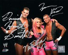 WWE SIGNED PHOTO HART DYNASTY NATALYA TYSON KIDD & DH SMITH