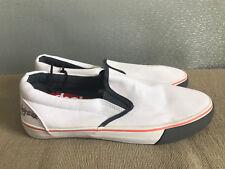 BNWT Teenage Boy Mens Sz 10 Rivers doghouse white/grey Slip On Style Casual Shoe