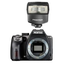 Pentax K-70 DSLR Camera Body Only Black + Pentax AF-200FG P-TTL Shoe Mount Flash
