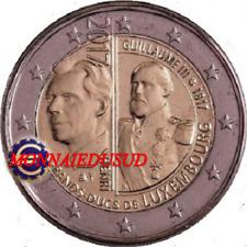 2 Euro Commémorative Luxembourg 2017 - Grand Duc Guillaume III