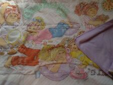 Vintage Cabbage Patch Kids Dolls Little Girl Sleeping Bag 1980's HTF