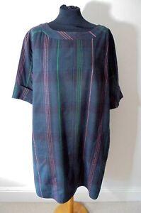 GUDRUN SJODEN TUNIC DRESS LAGENLOOK S / M