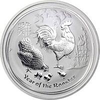 Australien 1 Dollar 2017 Jahr des Hahn mit Henne und Kücken Anlagemünze