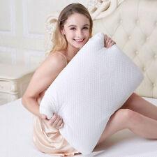 Latex Pillows Flat Thin Slim Low Foam Comfort Deep Sleep Natural Breathable Bed