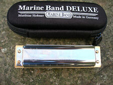 More details for hohner marine band deluxe  professional 10 hole diatonic