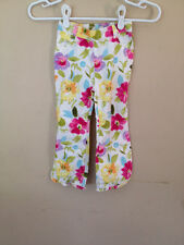 Gymboree Fairy Fashionable Pants Cotton Floral Straight Spring 3T Girls