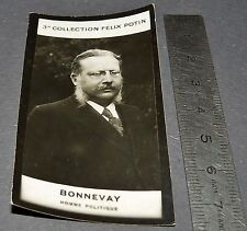PHOTO IMAGE FELIX POTIN 3ème ALBUM 1920 BONNEVAY HOMME POLITIQUE