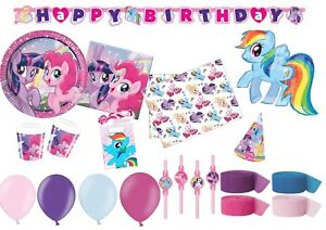 My Little Pony Decorations Tableware Party Supplies Birthday