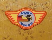 ~ Atari Video Game Vintage 80's Activision Patch - Barnstorming -- Flying Aces ~