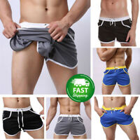 Men's Gym Shorts Training Running Sport Workout Casual Jogging Pants Trousers b5