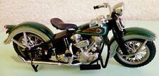HARLEY DAVIDSON KNUCKEL HEAD 1936 Moto Franklin MINT 1/24 NEUF FMPM