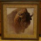 Robert Bateman 1997 bison print