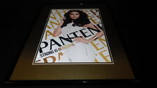 Selena Gomez 2016 Pantene Framed 16x20 ORIGINAL Advertisement Display Poster