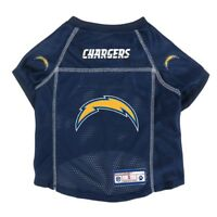 Los Angeles Chargers NFL LEP Dog Mesh Jersey Officially Licensed Sizes XS-XL