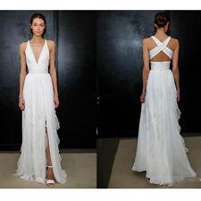 2017 Sexy Simple Spaghetti Strap Wedding Dress Sheath Floor Length Bridal Gowns