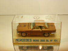 JOAL 124 MERCEDES BENZ 350 SL - GOLD 1:43 - VERY GOOD IN SHOW-CASE