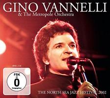 Gino Vannelli-North Sea Jazz Festival-CD + DVD - (UK Import) CD NEU