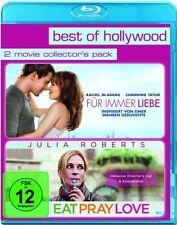 FÜR IMMER LIEBE (Rachel McAdams) + EAT PRAY LOVE (Julia Roberts) 2 Blu-ray Discs