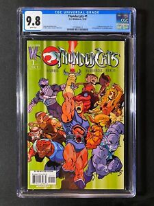 Thundercats #1 CGC 9.8 (2002) - Ed McGuiness cover - NEW Movie planned!