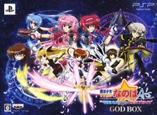 [FROM JAPAN][PSP] Lyrical Nanoha A's PORTABLE -THE GEARS OF DESTINY- GOD BOX...