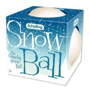 Snow Ball Crunch Stress Ball Squeeze Schylling SNBC