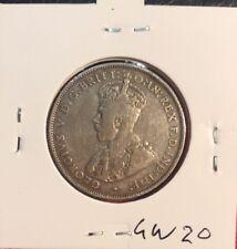 1934 australian  Florin Coin