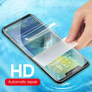 For Huawei Honor 20 8 9 10 Play Hydrogel Screen Protector Film Full Cover Clear