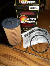 67674 PARTS MASTER OIL FILTER FITS BUICK 16-19 CHEVY 18-20 PONTIAC 09,10 SATURN-